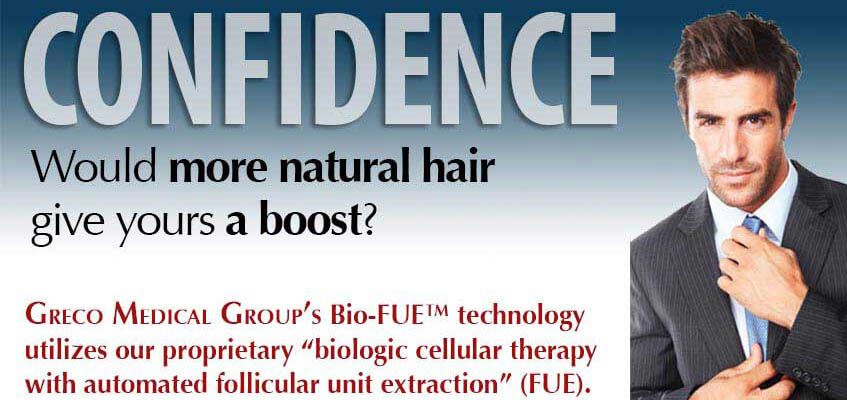 Greco Medical Groups Bio-FUE technology